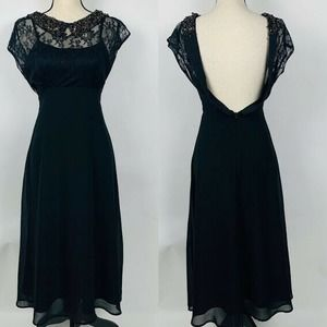 Pins And Needles Lace Midi Dress